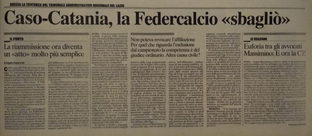24.06.1994: Corriere dello Sport
